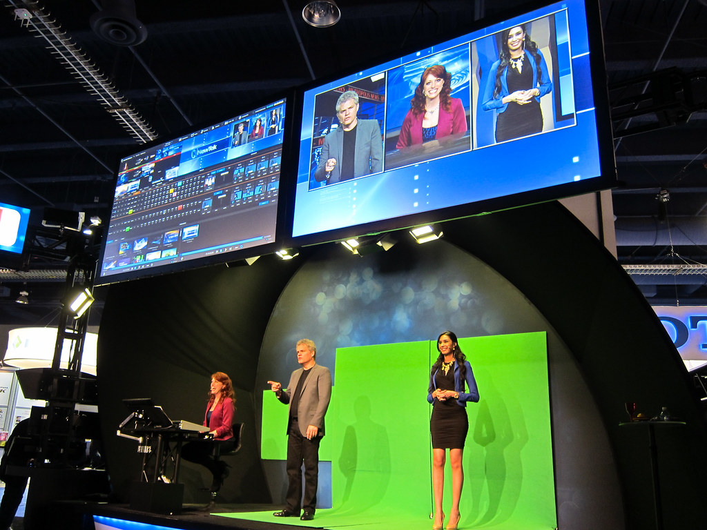 Newtek Tricaster 8000 Newtek Had Quite The Setup To Show