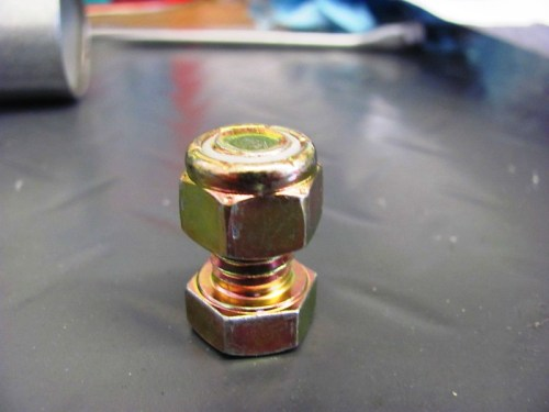 16 MM Bolt with Lock Nut-Faces Aligned