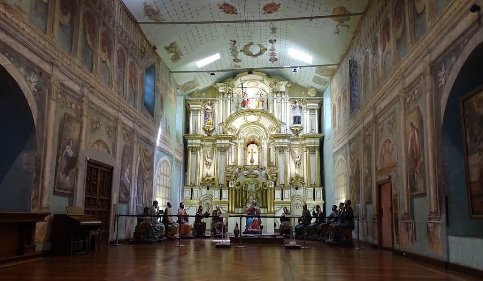 Iglesia del Sagrario o Catedral Vieja Cuenca Ecuador 05