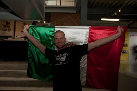 Steven Mexican Flag Startupbus 2013