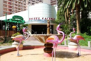 Flamingo Hotel - not live ones!