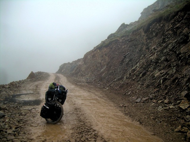 Another muddy descent in a cloud by bryandkeith on flickr