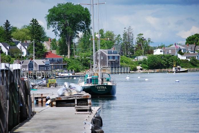 Puerto en Castine, Maine