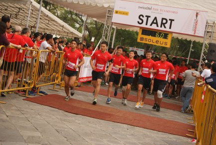 Swissôtel Vertical Marathon 2012
