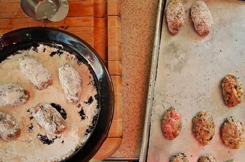 Greek Lamb Meatballs in Tomato Sauce