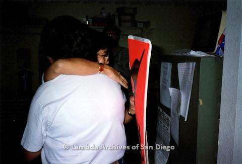 P151.028m.r.t Two women hugging