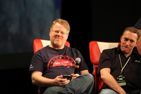 Robert Scoble in the Startupbus Jury