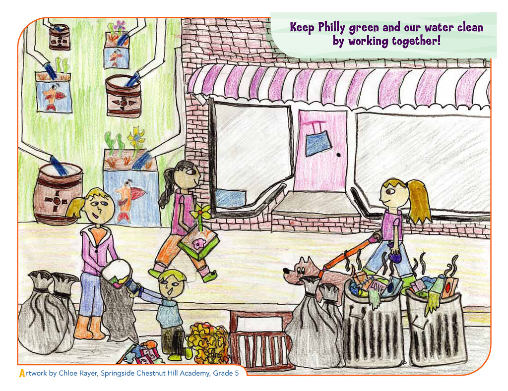 Green City Clean Waters Art Contest 1st Place 3rd To 5t