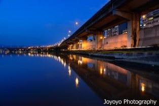 藍調 淡水河岸
