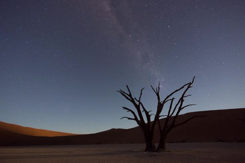 Milky Way at Deadvlei