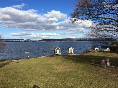 Tur til Vassholmene og Snarøysundet 24. mars 2014