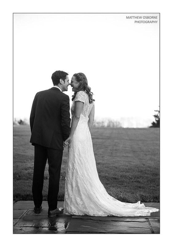 Kodak Portra Wedding B&W