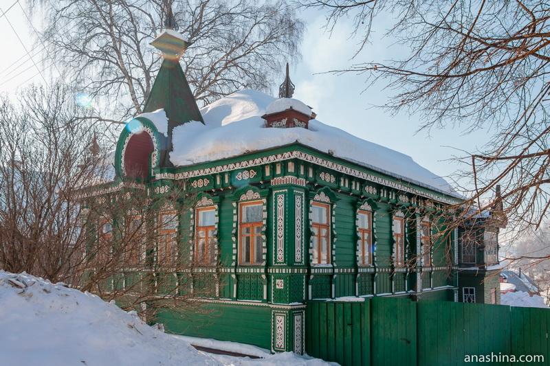 Дом Павла Николаевича Попова в Солигаличе