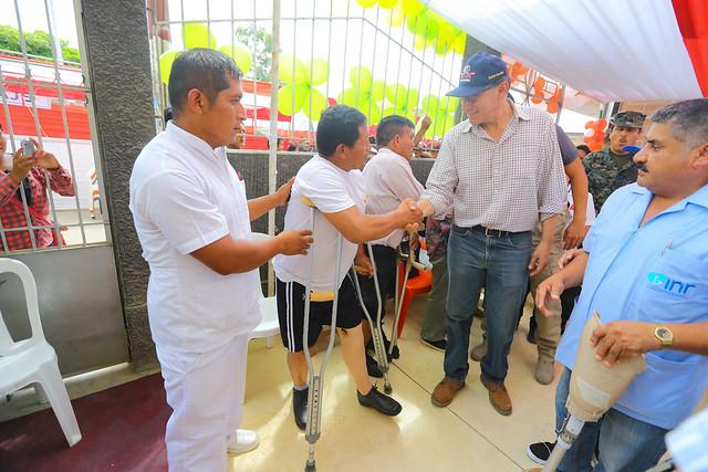Jefe de Estado supervisa atenciones multisectoriales del Estado en el centro poblado de San Martín de Pangoa (Junín).