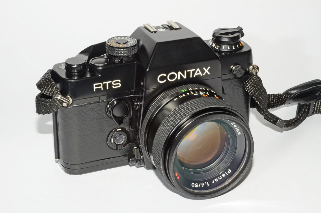 Contax RTS II with Carl Zeiss Planar 50mm f/1.4 (MMJ) | Flickr
