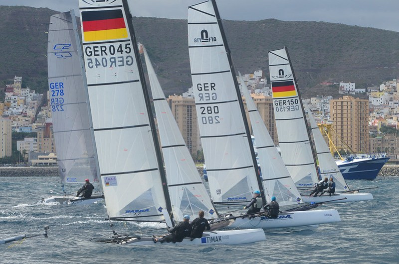 Día 1. Regata de Carnaval Ciudad de Las Palmas de Gran Canaria y Europa Cup Gran Canaria 2015.