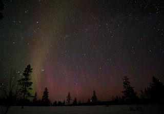 Lucky 4th night - Aurora Borealis, from the Aurora camp