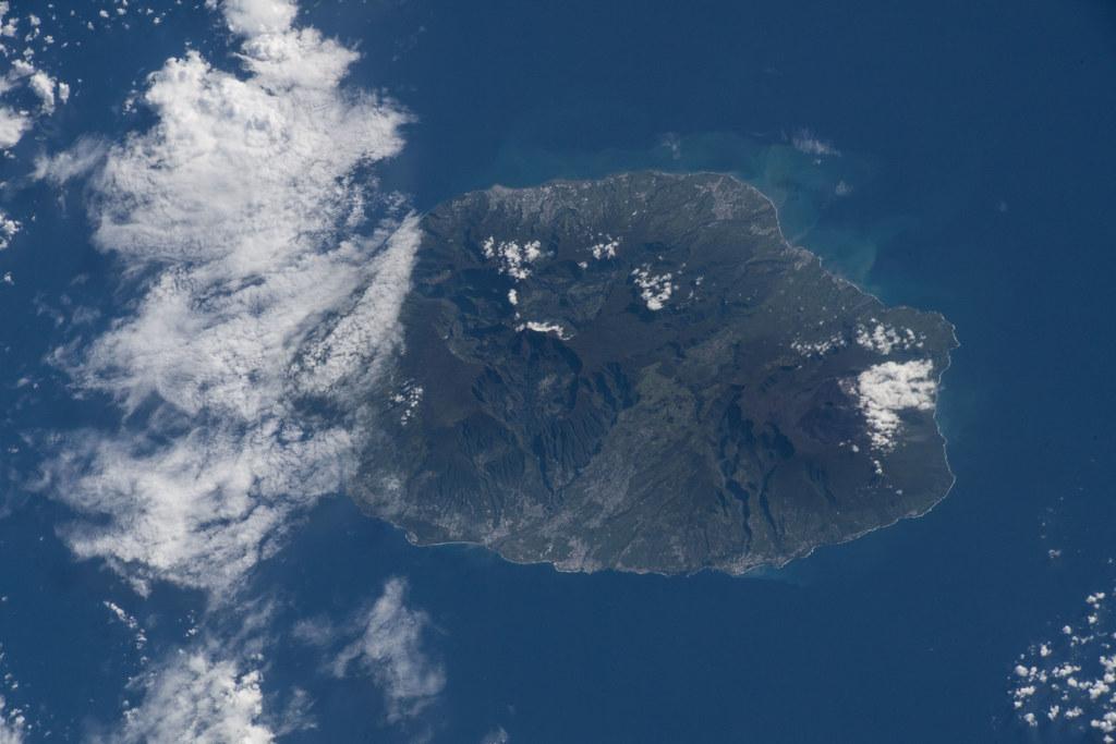 Reunion Island A French Region Off The Coast Of Madagasca