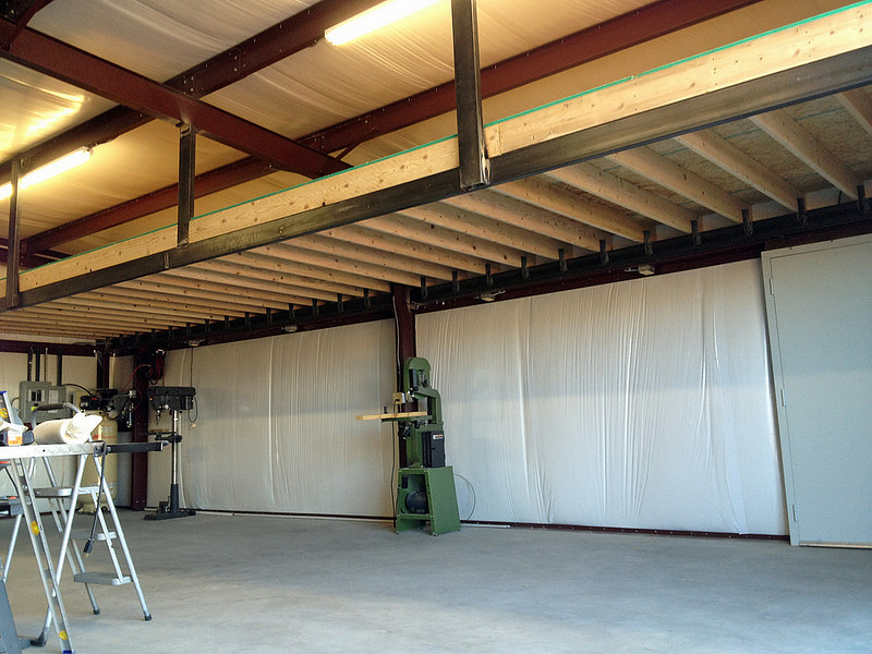 wooden decoration garage