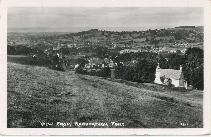 View from Rodborough Fort