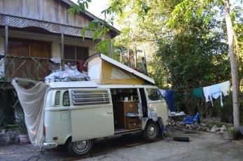 Hostel camping