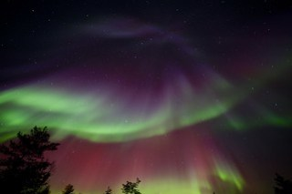 Aurora Borealis - we are truly blessed for the 5th night