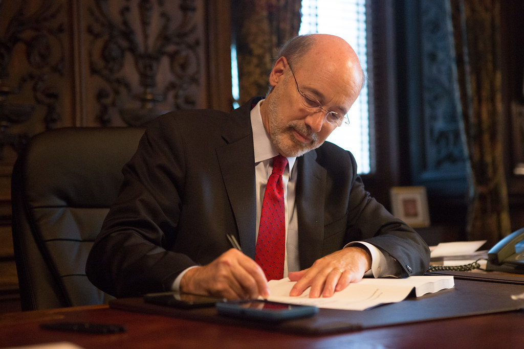 Governor Tom Wolf Signs Revenue Package to Complete the 20… | Flickr