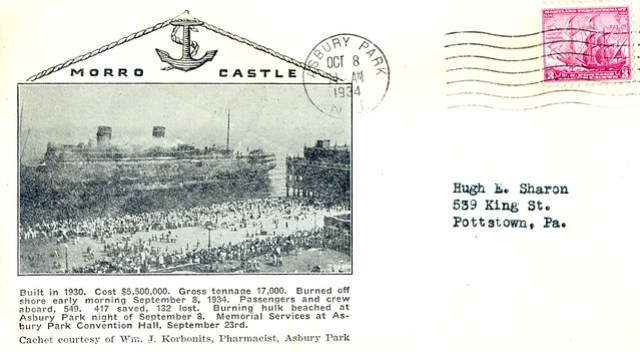 Morro Castle Disaster - Asbury Park, New Jersey