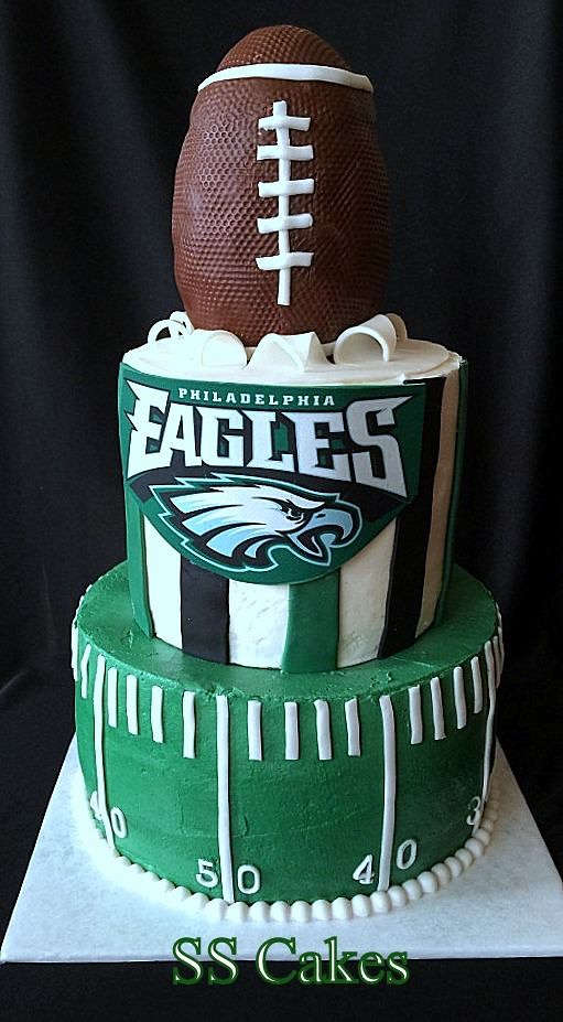 Philadelphia Eagles Cake Stephanie Flickr