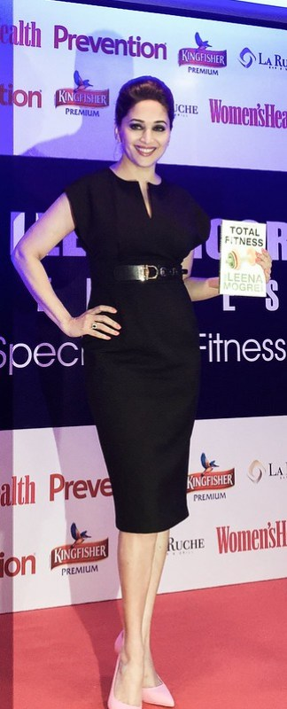 MADHURI DIXIT AT LEENA MOGRE'S FITNESS LAUNCH