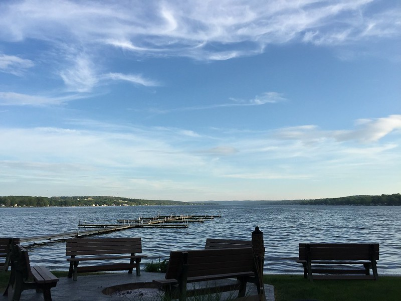 Dinner on Conesus Lake