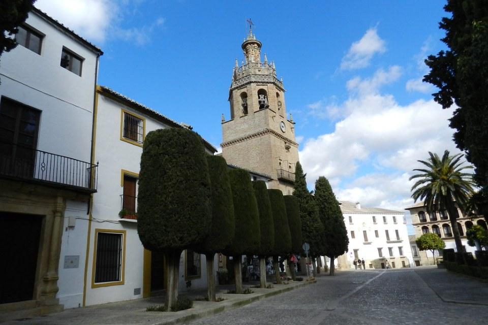 Ronda Iglesia de Santa Maria de la Encarnacion la Mayor Plaza de la Duquesa de Parcent Malaga 07