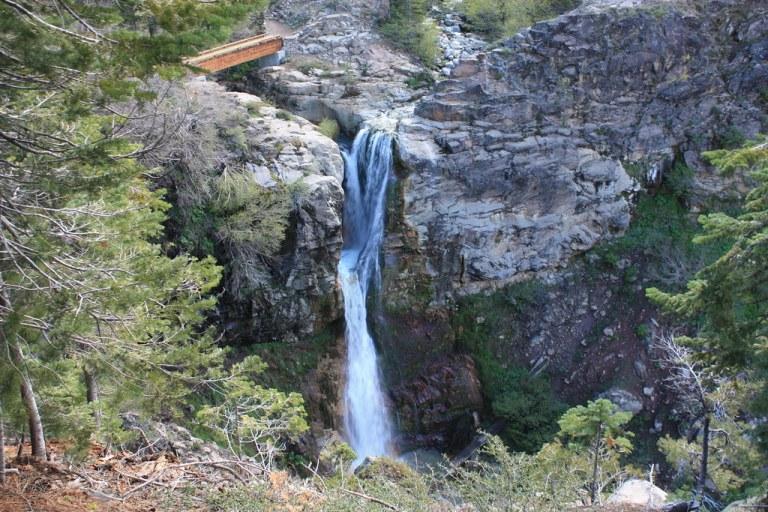 Mill Creek Falls in Lassen Volcanic National Park