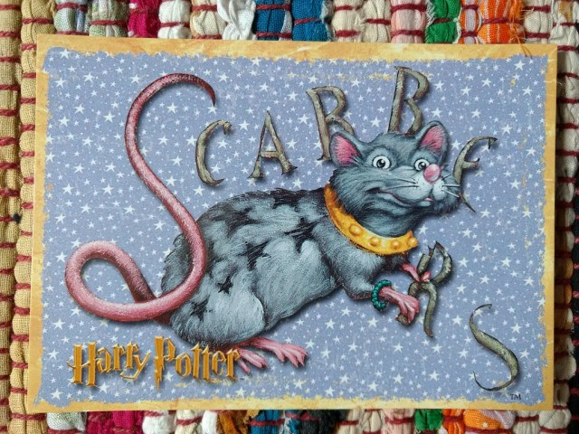 Scabbers, Harry Potter