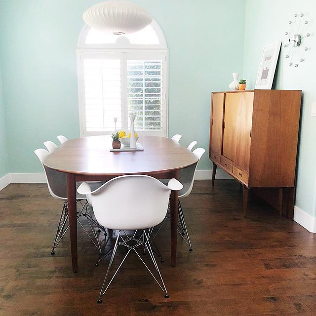 Updated Dining Room with New Chairs