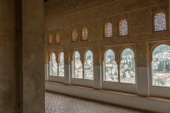 Binnen in het Palacios Nazaríes wordt pas echt duidelijk dat het door de Moren is gebouwd.