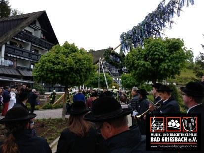 Maibaumstellen 2018 Kurhaus, Renchtalhütte &  Hotel Dollenberg