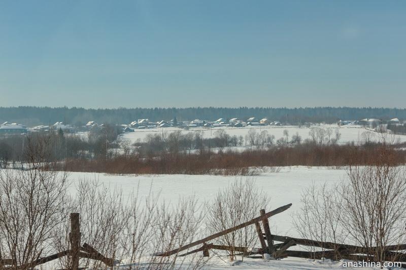Деревня Носково близ Солигалича