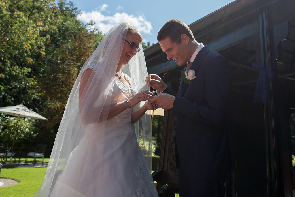 Exchange of our wedding rings
