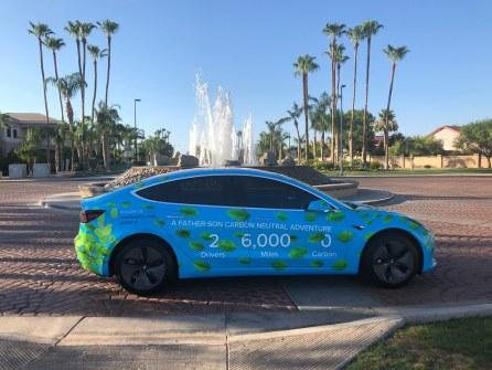 Our Model 3 in Gilbert, AZ
