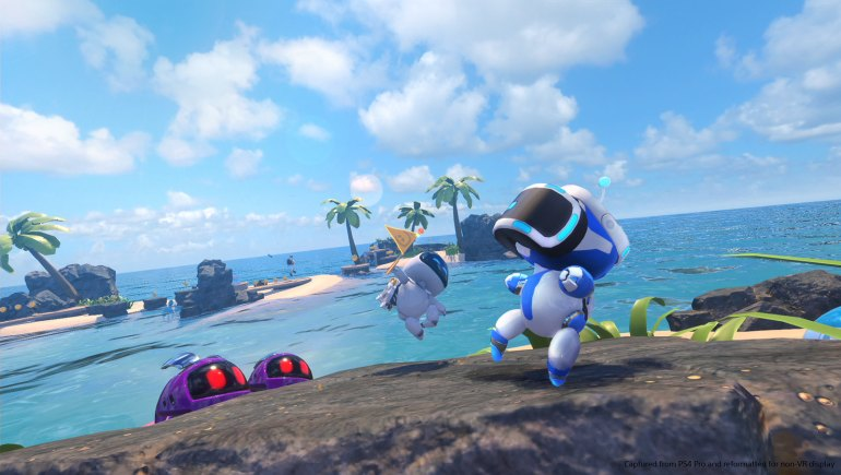 Astro Bot Rescue Mission for PS VR play at home