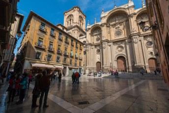 Na Malaga volgde Granada, dit is de lokale kathedraal.