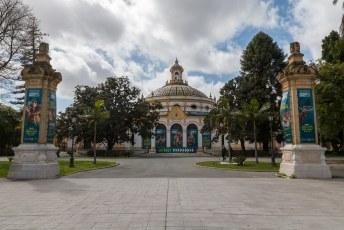 Mijn één na laatste stop in Spanje was Sevilla met hier het Teatro Lope de Vega.