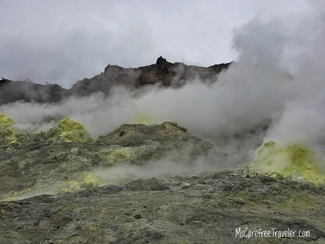 Lo Zan Sulphur Mountain Hokkaido Japan
