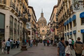 Calle de Alfonso I, hij was ooit de koning van Aragón.