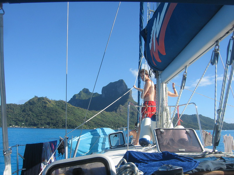 Sunny morning in Bora Bora (5)