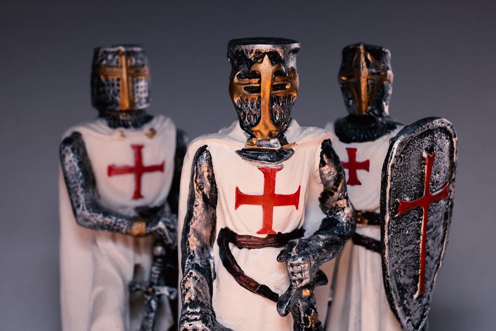 Knights Templar Cavalieri Templari 1 Painted Knights