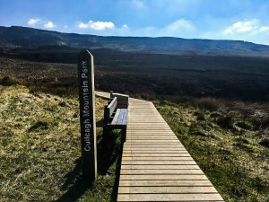 irelands stairway to heaven cuilcagh mountain live adventure travel