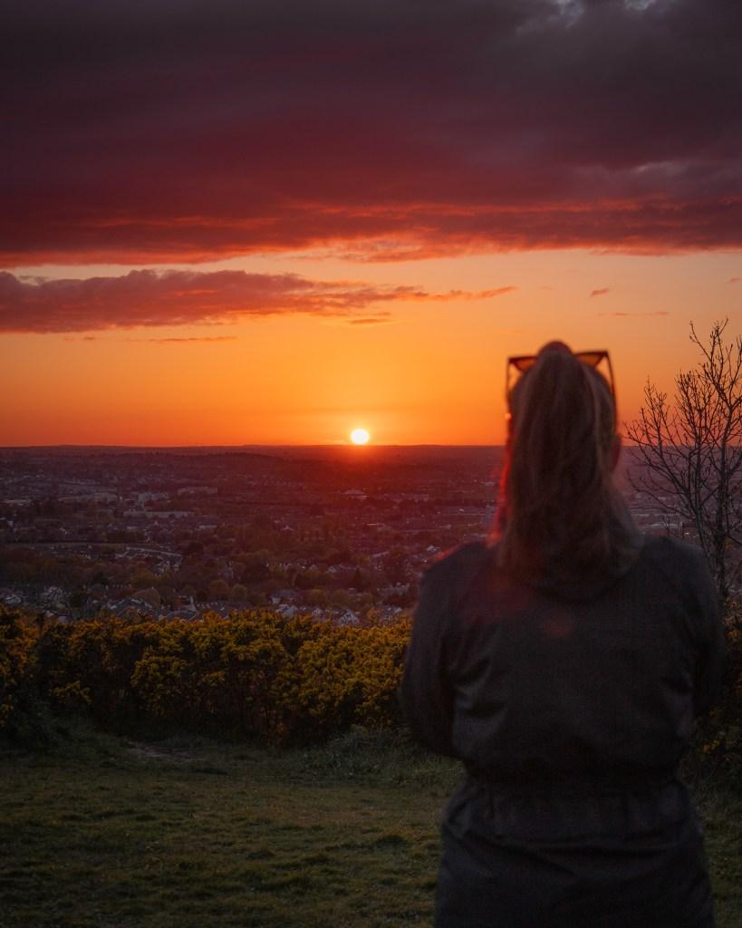 Dublin Sunset - Killiney Hill