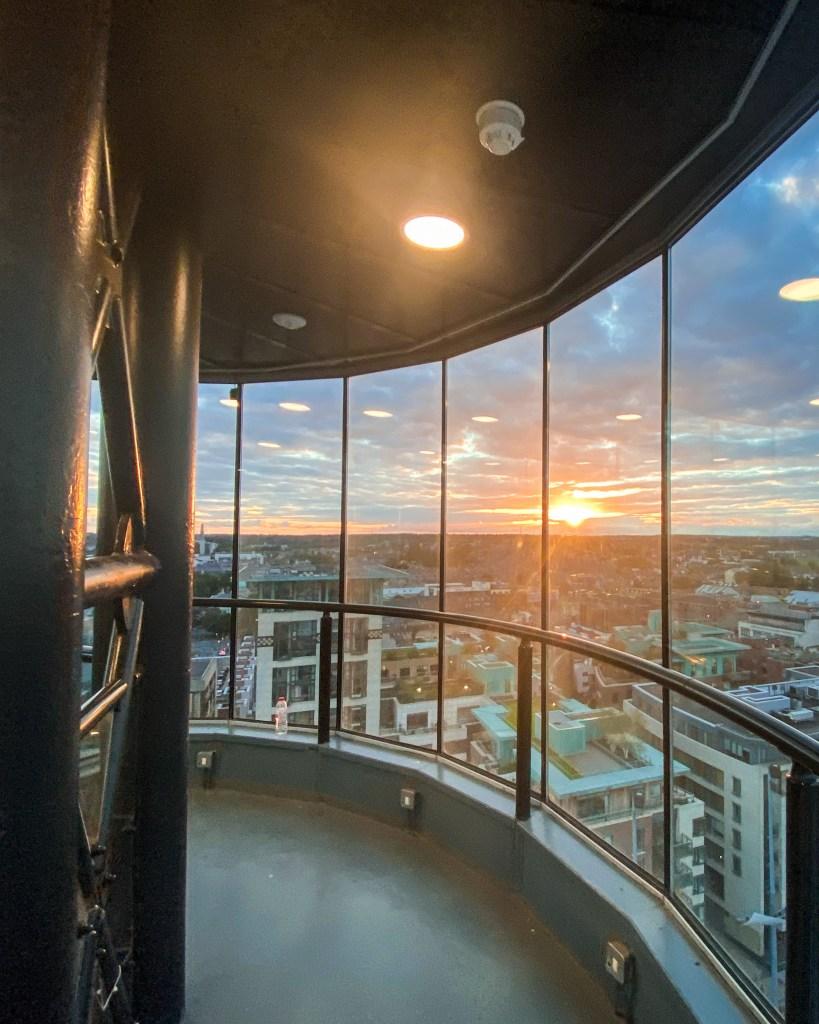 Dublin Sunset - Smithfield Tower